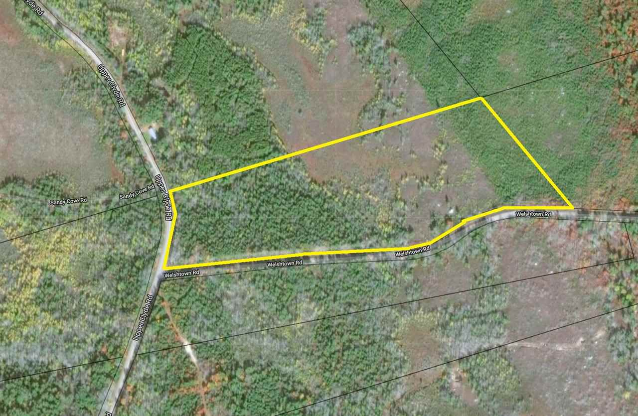 Main Photo: Upper Clyde Road in Welshtown: 407-Shelburne County Vacant Land for sale (South Shore)  : MLS®# 201909021