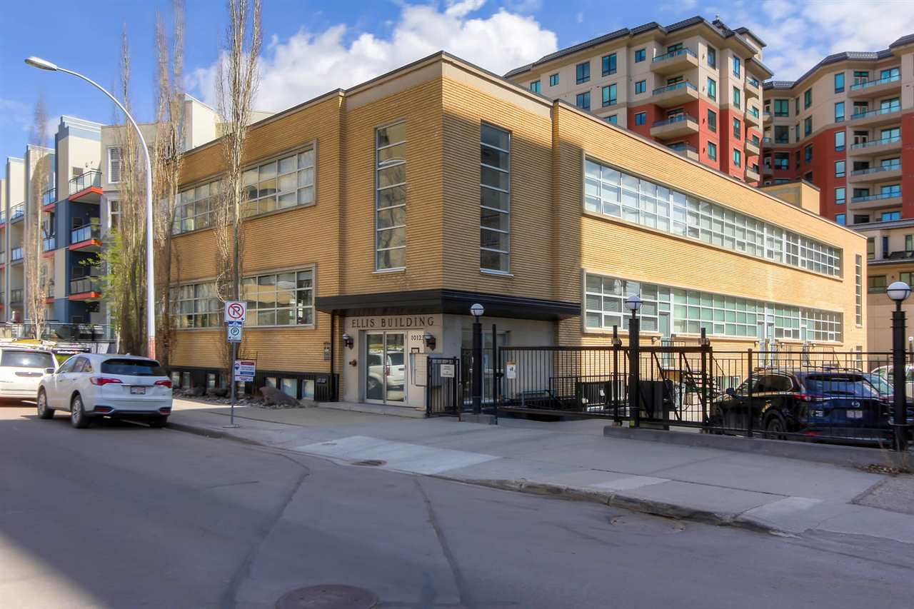 Main Photo: 105 10123 112 Street in Edmonton: Zone 12 Condo for sale : MLS®# E4156775