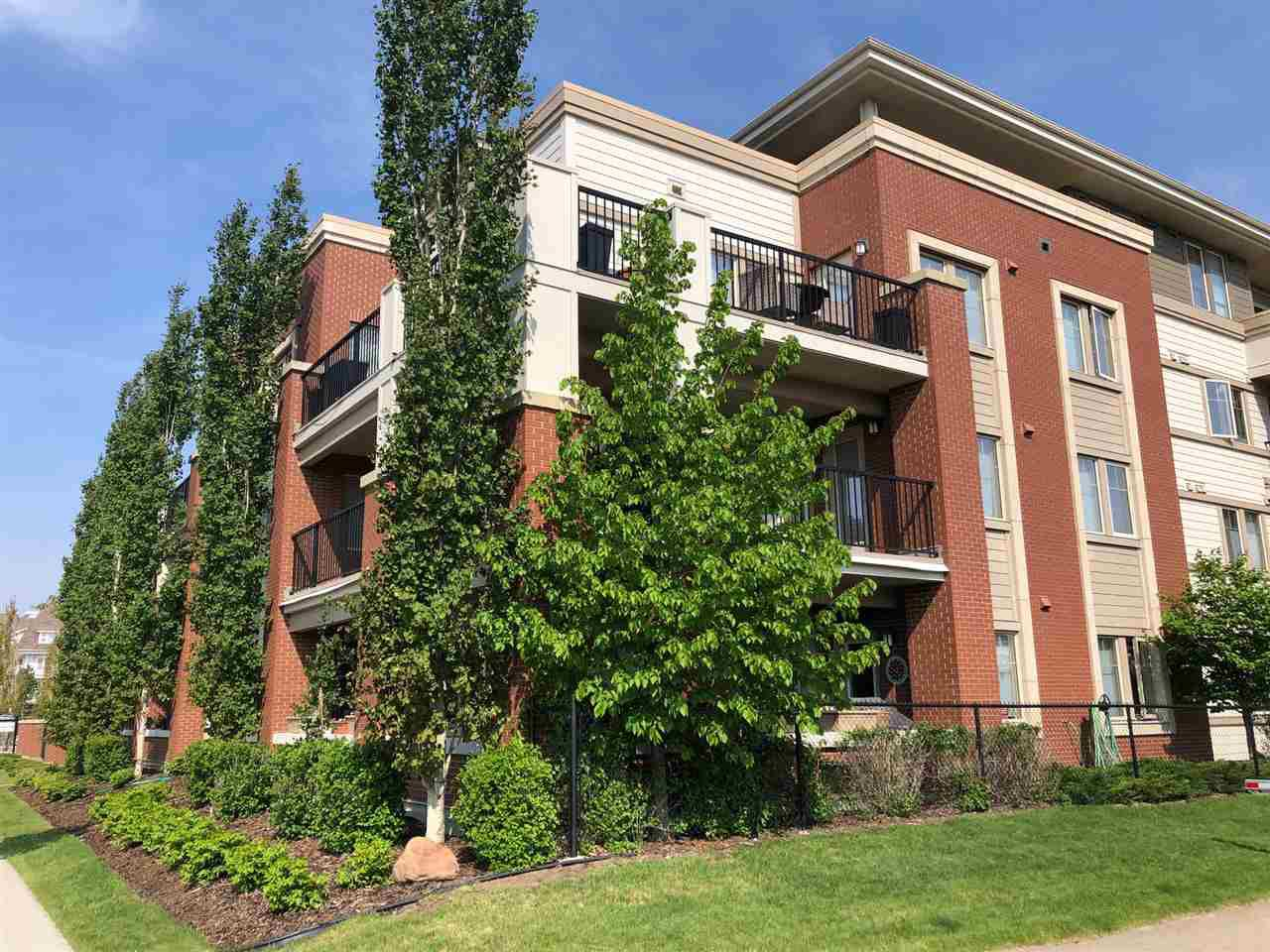 Main Photo: 310 4450 MCCRAE Avenue in Edmonton: Zone 27 Condo for sale : MLS®# E4159224