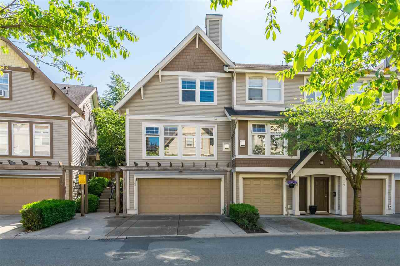 """Main Photo: 12 6588 188 Street in Surrey: Cloverdale BC Townhouse for sale in """"Hillcrest Place"""" (Cloverdale)  : MLS®# R2375051"""