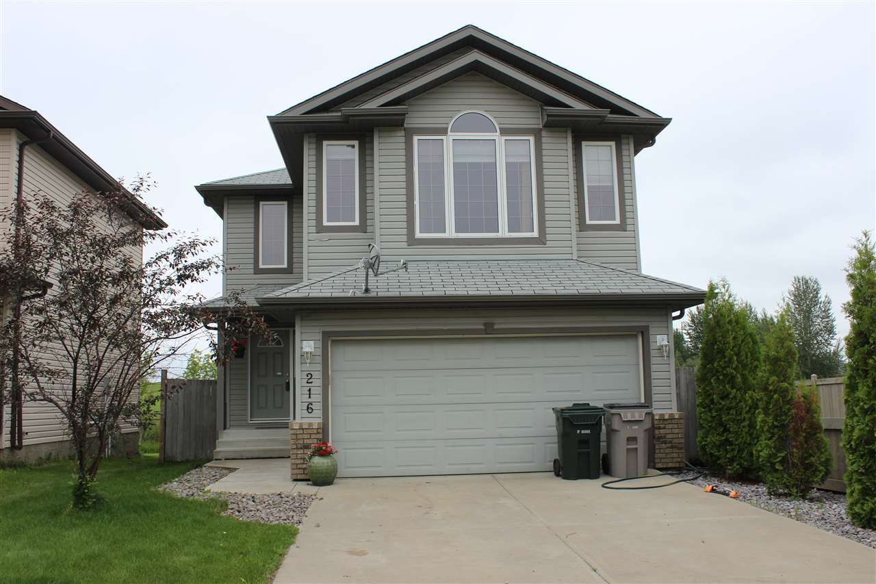 Main Photo: 216 BROOKVIEW WY: Stony Plain House for sale : MLS®# E4165007