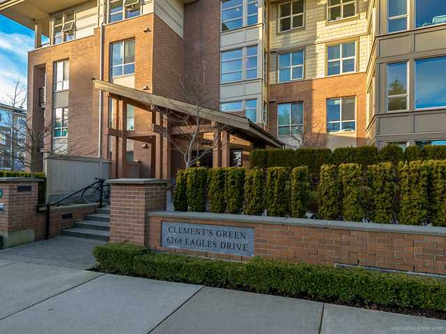 """Main Photo: 214 6268 EAGLES Drive in Vancouver: University VW Condo for sale in """"Clements Green"""" (Vancouver West)  : MLS®# V1067735"""