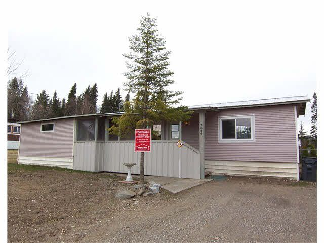 "Main Photo: 3886 BALSUM Road in PRINCE GRG: Birchwood Manufactured Home for sale in ""BIRCHWOOD/HART HIGHLANDS"" (PG City North (Zone 73))  : MLS®# N245972"