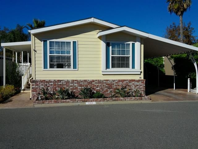 Main Photo: OCEANSIDE Manufactured Home for sale : 3 bedrooms : 200 N El Camino Real #122