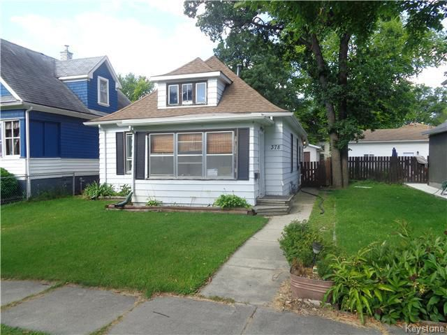 Main Photo: 378 Albany Street in Winnipeg: St James Residential for sale (5E)  : MLS®# 1623973