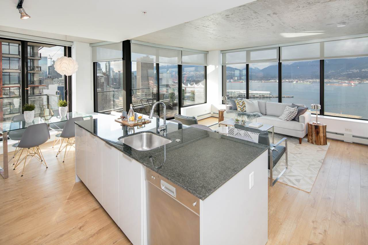 "Main Photo: 2309 108 W CORDOVA Street in Vancouver: Downtown VW Condo for sale in ""WOODWARDS W32"" (Vancouver West)  : MLS®# R2146313"