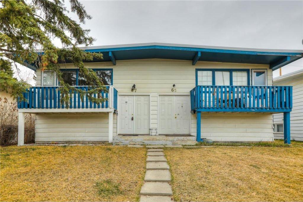 Main Photo: 65/67 GALBRAITH Drive SW in Calgary: Glamorgan Multi Unit for sale : MLS®# C4136900