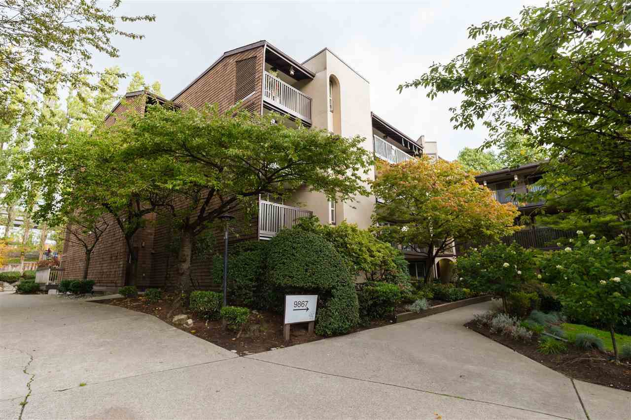 "Main Photo: 514 9867 MANCHESTER Drive in Burnaby: Cariboo Condo for sale in ""BARCLAY WOODS"" (Burnaby North)  : MLS®# R2315579"