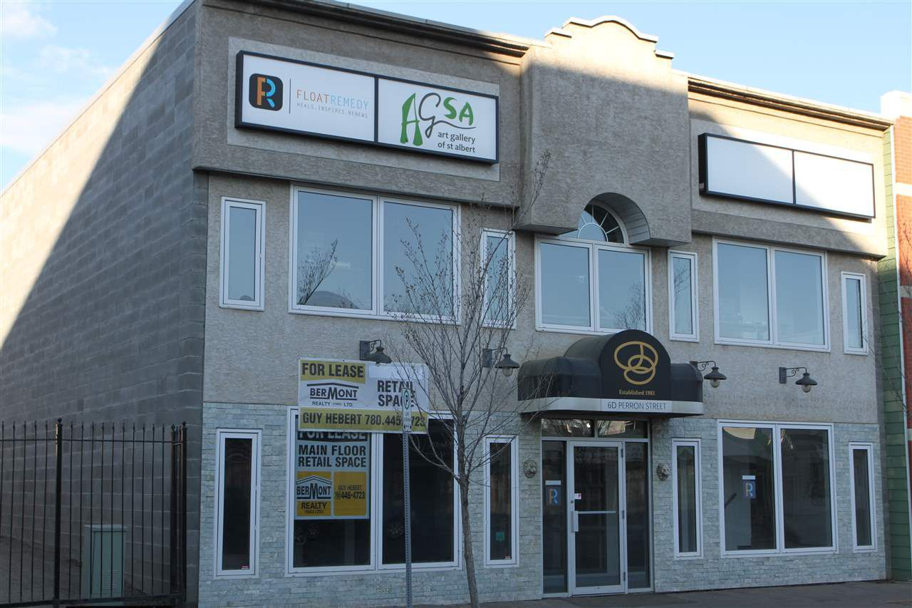 Main Photo: 6D Perron Street: St. Albert Retail for lease : MLS®# E4139821