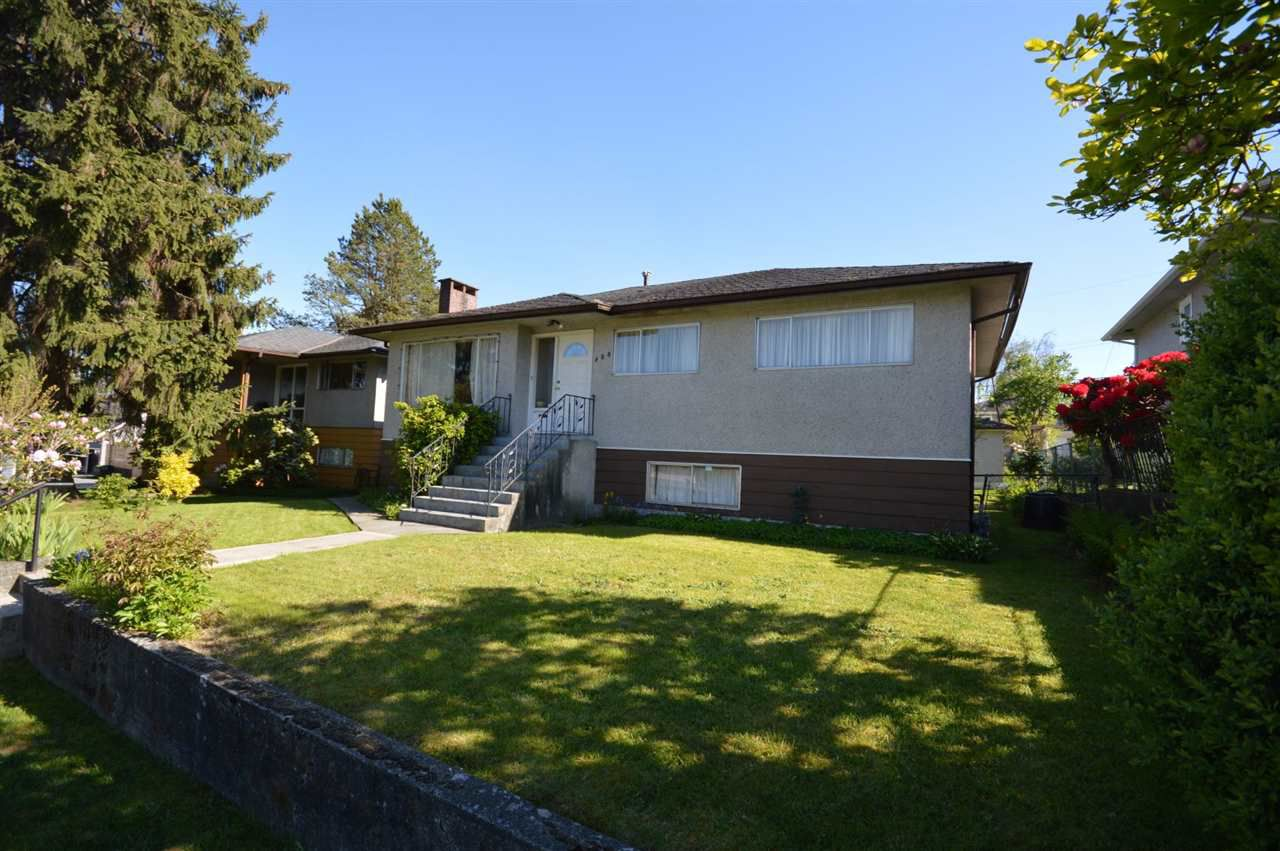 Main Photo: 488 AUBREY Place in Vancouver: Fraser VE House for sale (Vancouver East)  : MLS®# R2368525