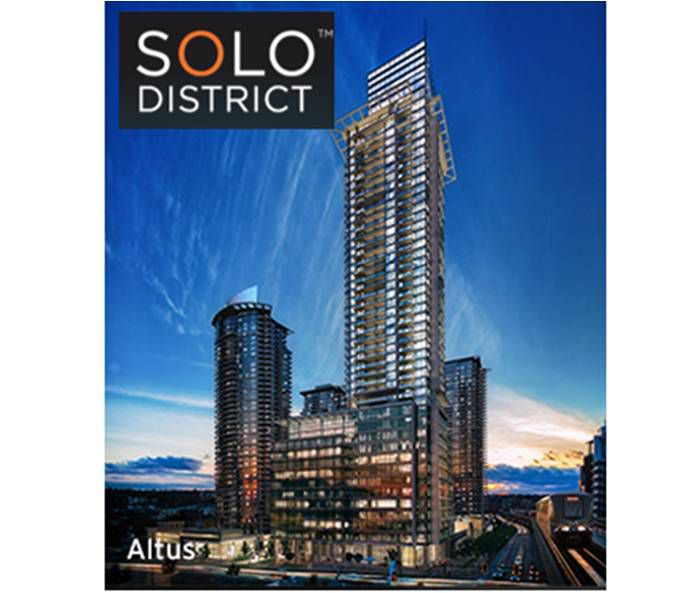 Main Photo: #1904 at SOLO 2 in Burnaby: Brentwood Park Condo  (Burnaby North)