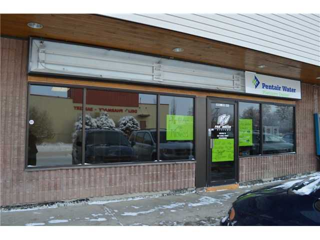 Main Photo: 207 213 THIRD Avenue in Strathmore: A-ST_DTN Retail for lease : MLS®# C1023351