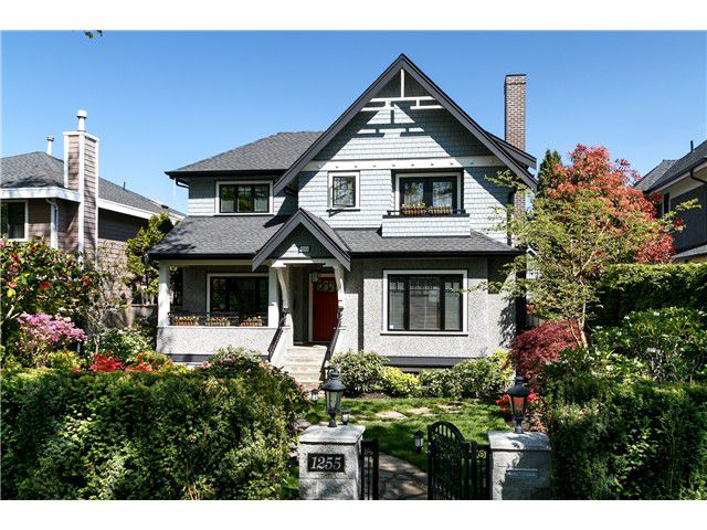 Main Photo: 1255 W 26TH Avenue in Vancouver: Shaughnessy House for sale (Vancouver West)  : MLS®# V1118241