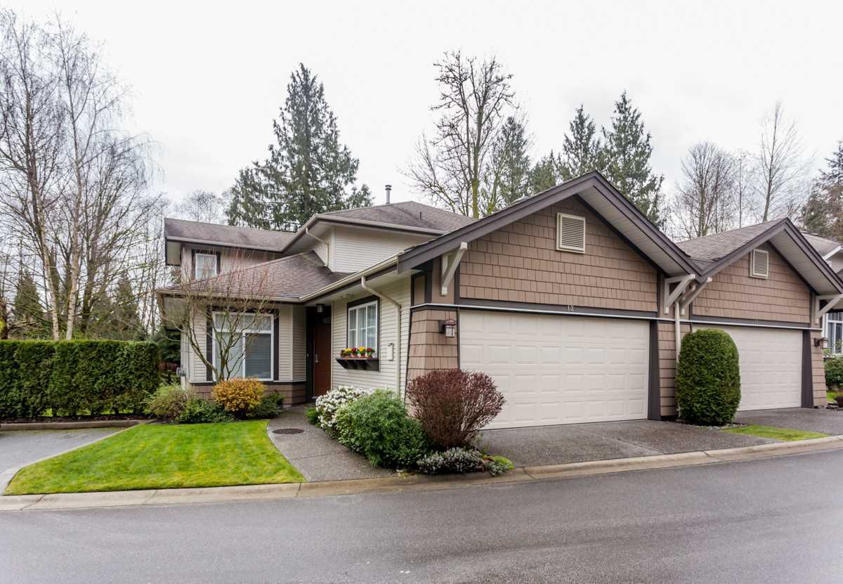 """Main Photo: 12 8588 168A Street in Surrey: Fleetwood Tynehead Townhouse for sale in """"BROOKSTONE"""" : MLS®# R2043837"""