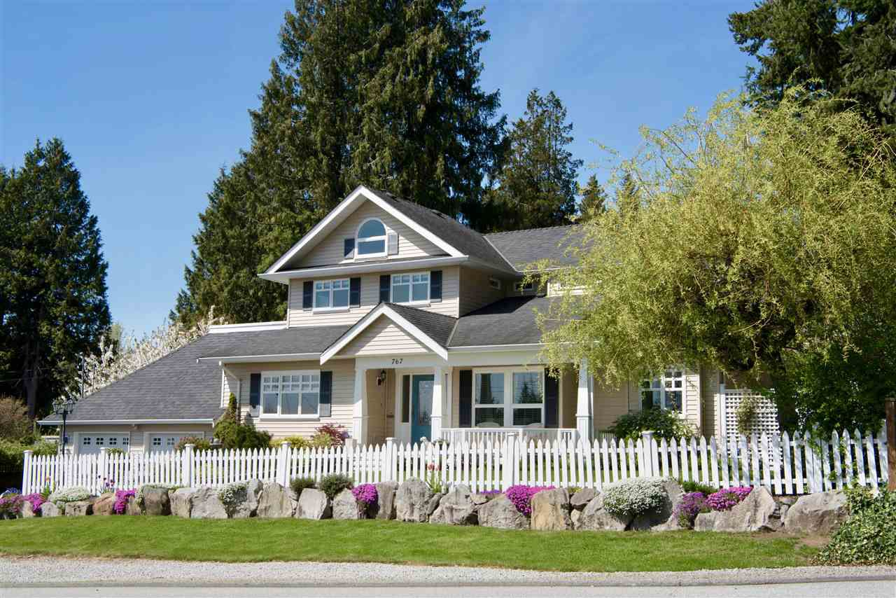 Main Photo: 767 EDGAR Avenue in Coquitlam: Coquitlam West House for sale : MLS®# R2269564