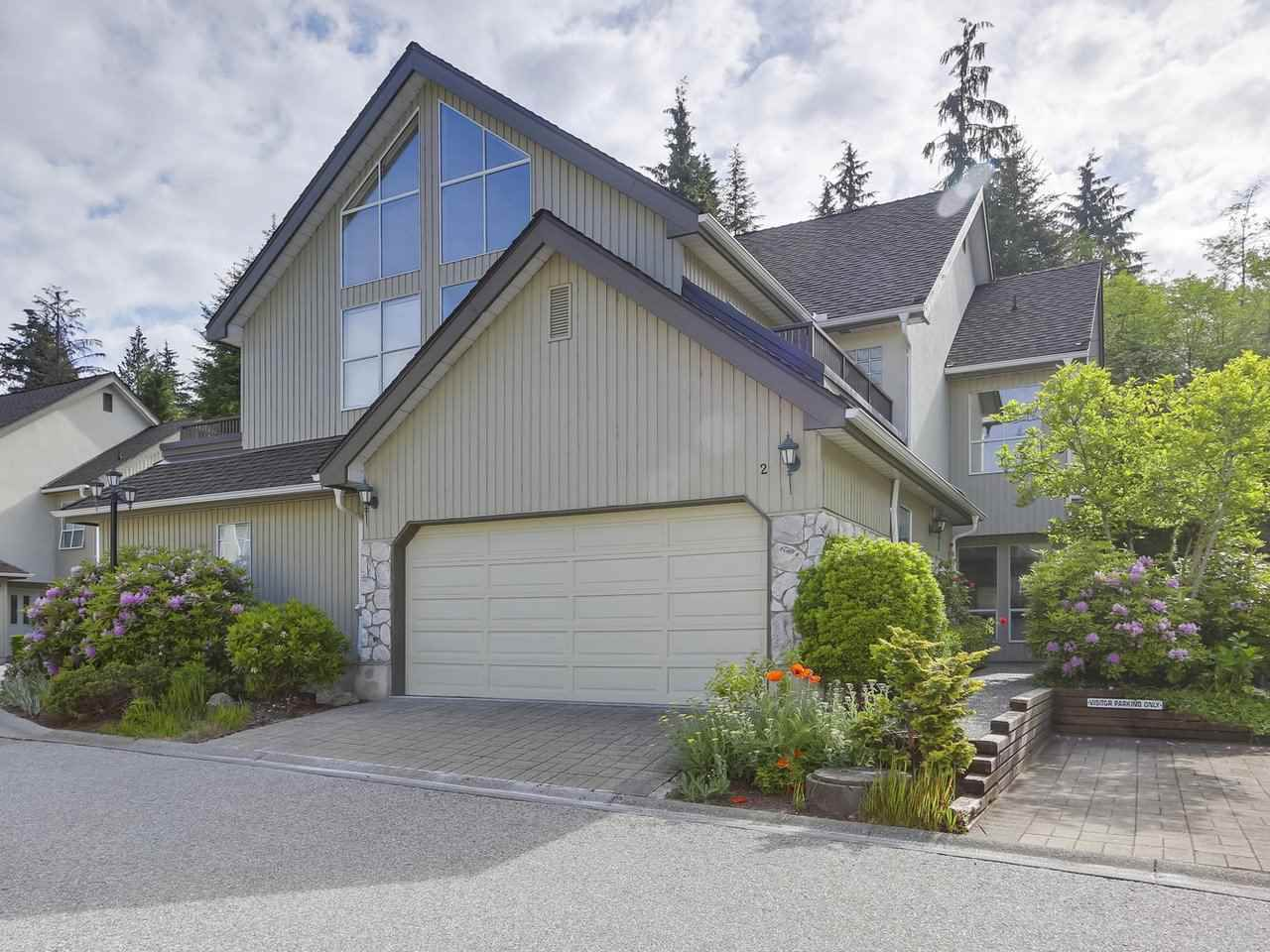 Main Photo: 2 1001 NORTHLANDS Drive in North Vancouver: Northlands Townhouse for sale : MLS®# R2273158