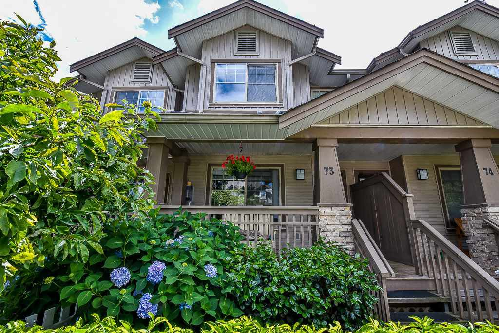 "Main Photo: 73 19250 65 Avenue in Surrey: Clayton Townhouse for sale in ""SUNBERRY COURT"" (Cloverdale)  : MLS®# R2291672"