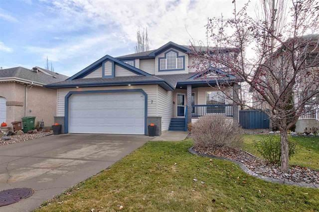 Main Photo: 7 Olivier Close: St. Albert House for sale : MLS®# E4138382