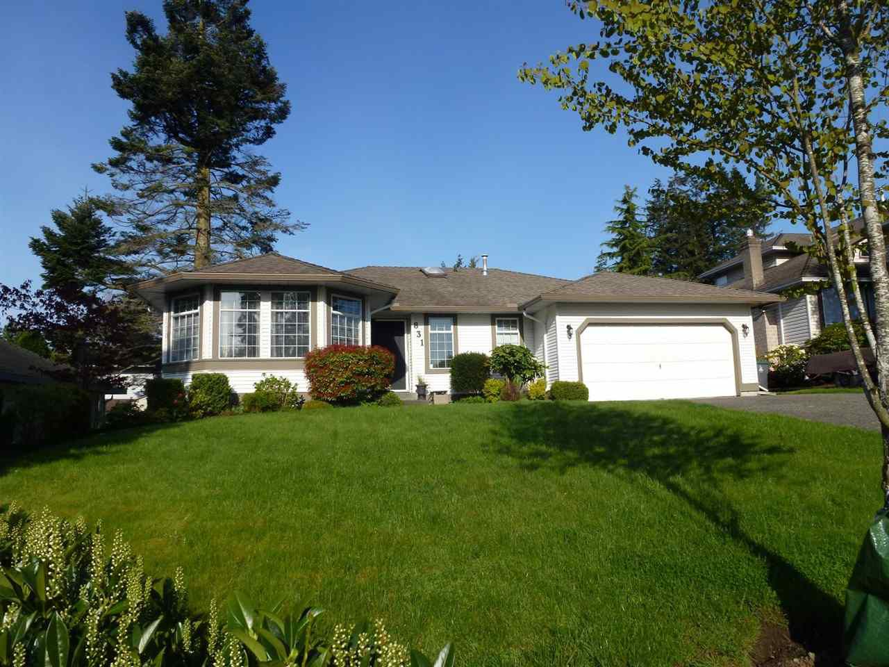 """Main Photo: 831 165 Street in Surrey: King George Corridor House for sale in """"South Meridian"""" (South Surrey White Rock)  : MLS®# R2361071"""