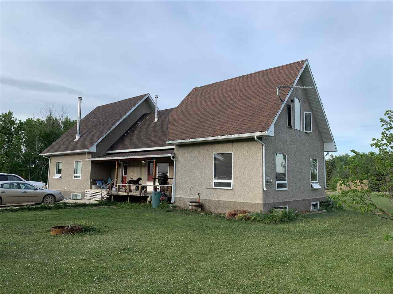 Main Photo: 27110 TWP RD 583: Rural Westlock County House for sale : MLS®# E4159862