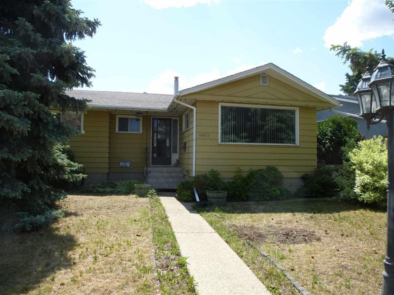 Main Photo: 16015 103 Avenue in Edmonton: Zone 21 House for sale : MLS®# E4164883