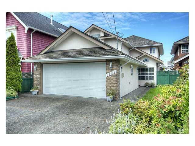 "Main Photo: 11675 4TH Avenue in Richmond: Steveston Villlage House for sale in ""STEVESTON VILLAGE"" : MLS®# V877084"
