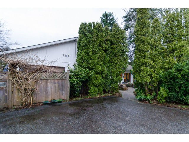 Main Photo: 1381 EVERALL Street: White Rock House for sale (South Surrey White Rock)  : MLS®# F1432158