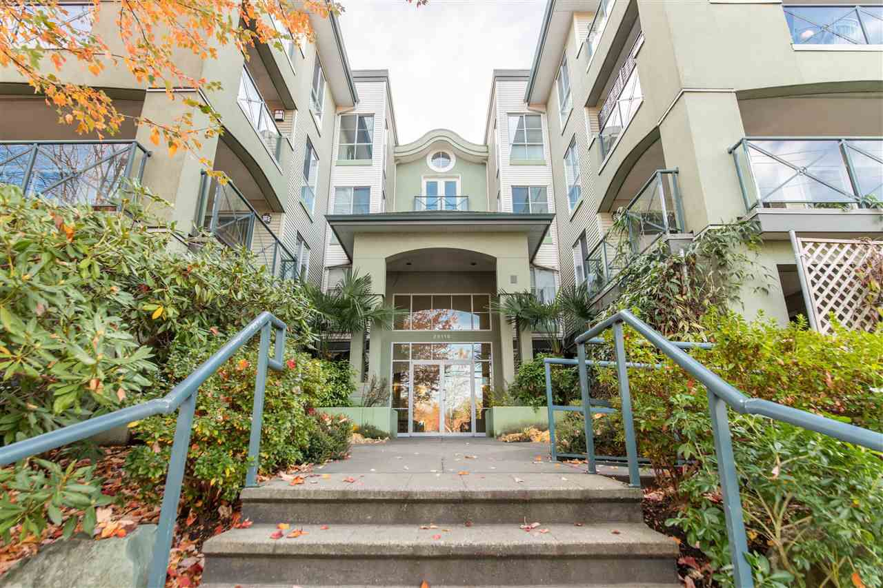 """Main Photo: 307 20110 MICHAUD Crescent in Langley: Langley City Condo for sale in """"REGENCY TERRACE"""" : MLS®# R2219358"""