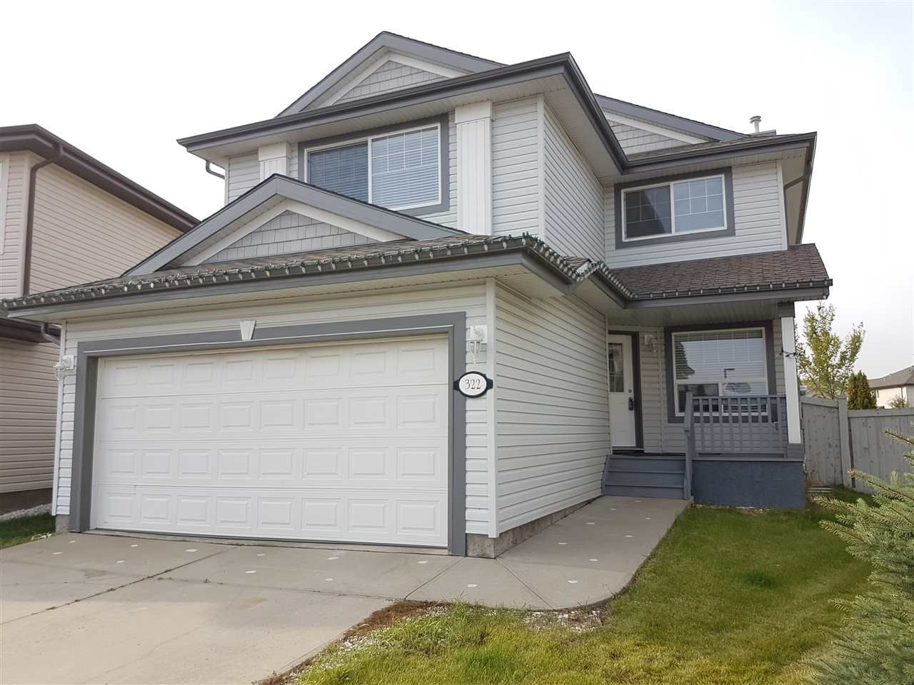 Main Photo: 322 GIBB Close in Edmonton: Zone 58 House for sale : MLS®# E4130378