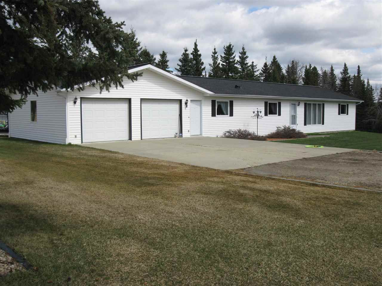 Main Photo: 53024 Rge Rd 70: Rural Parkland County House for sale : MLS®# E4155581