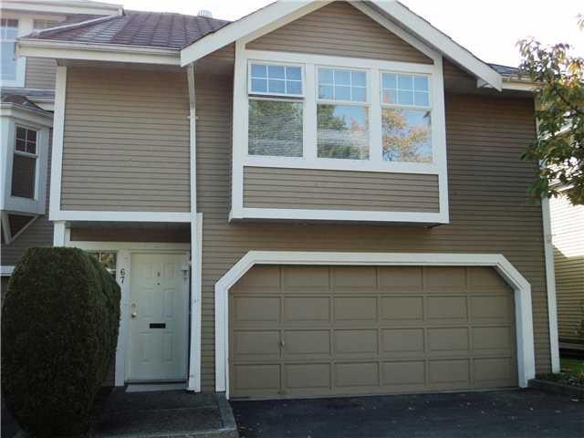 Main Photo: # 67 1140 FALCON DR in Coquitlam: Eagle Ridge CQ Townhouse for sale : MLS®# V1032310