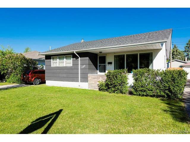 Main Photo: 780 Airlies Street in WINNIPEG: West Kildonan / Garden City Residential for sale (North West Winnipeg)  : MLS®# 1515276