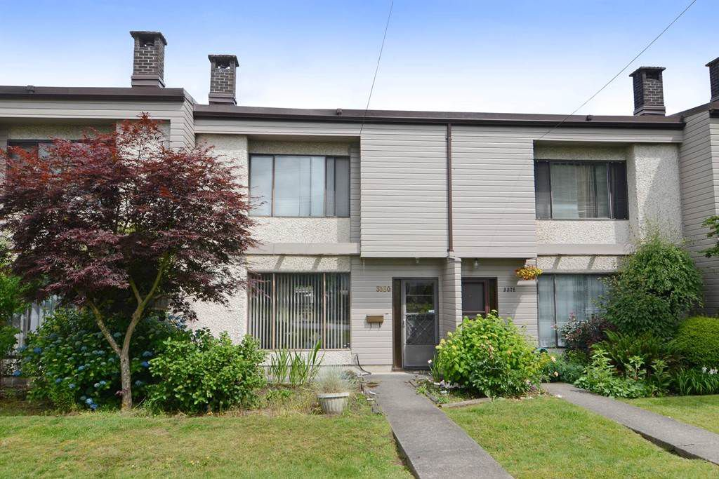 Main Photo: 3380 VINCENT Street in Port Coquitlam: Glenwood PQ Townhouse for sale : MLS®# R2075306