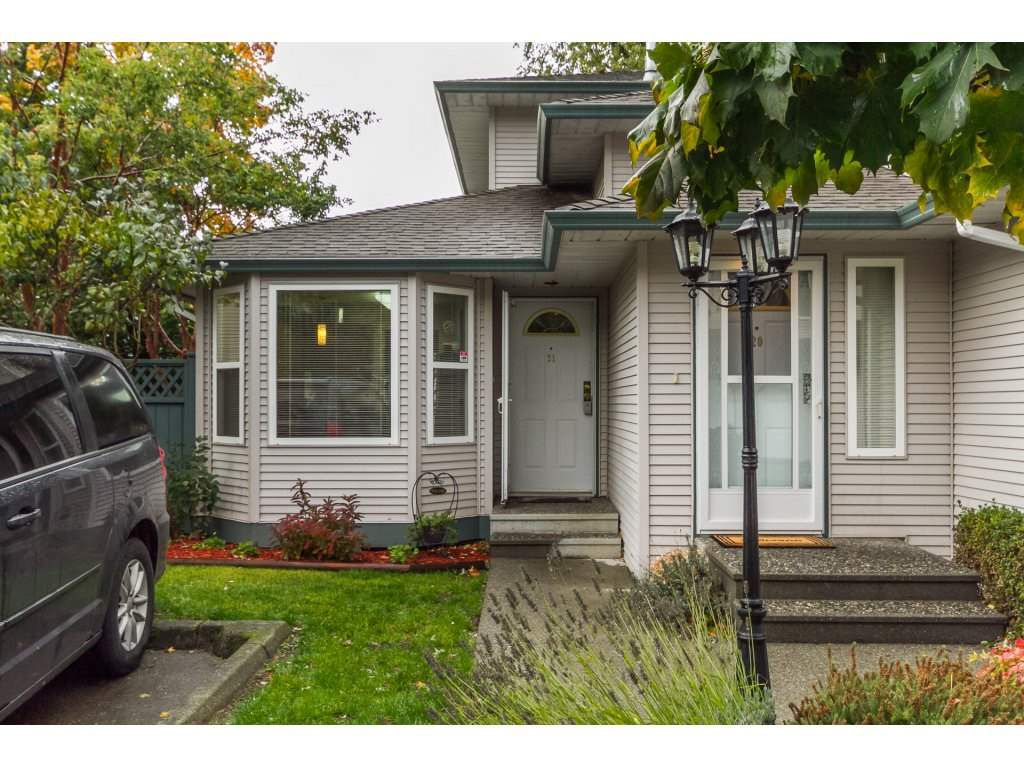 """Main Photo: 21 34332 MACLURE Road in Abbotsford: Central Abbotsford Townhouse for sale in """"IMMEL RIDGE"""" : MLS®# R2117119"""