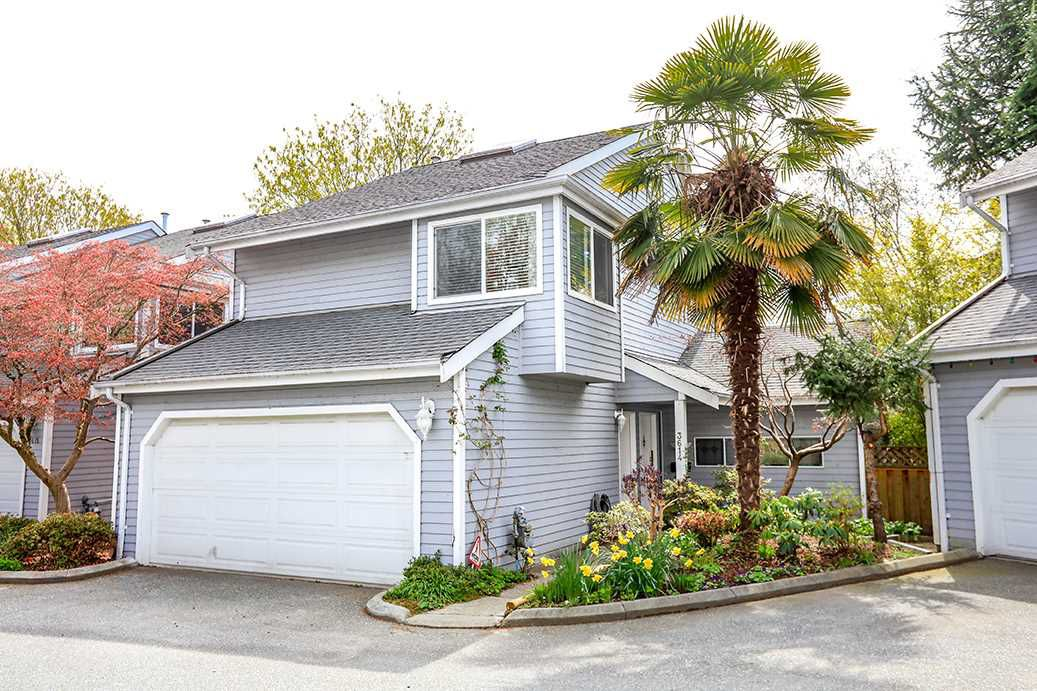 """Main Photo: 3614 HANDEL Avenue in Vancouver: Champlain Heights Townhouse for sale in """"ASHLEIGH HEIGHTS"""" (Vancouver East)  : MLS®# R2257474"""