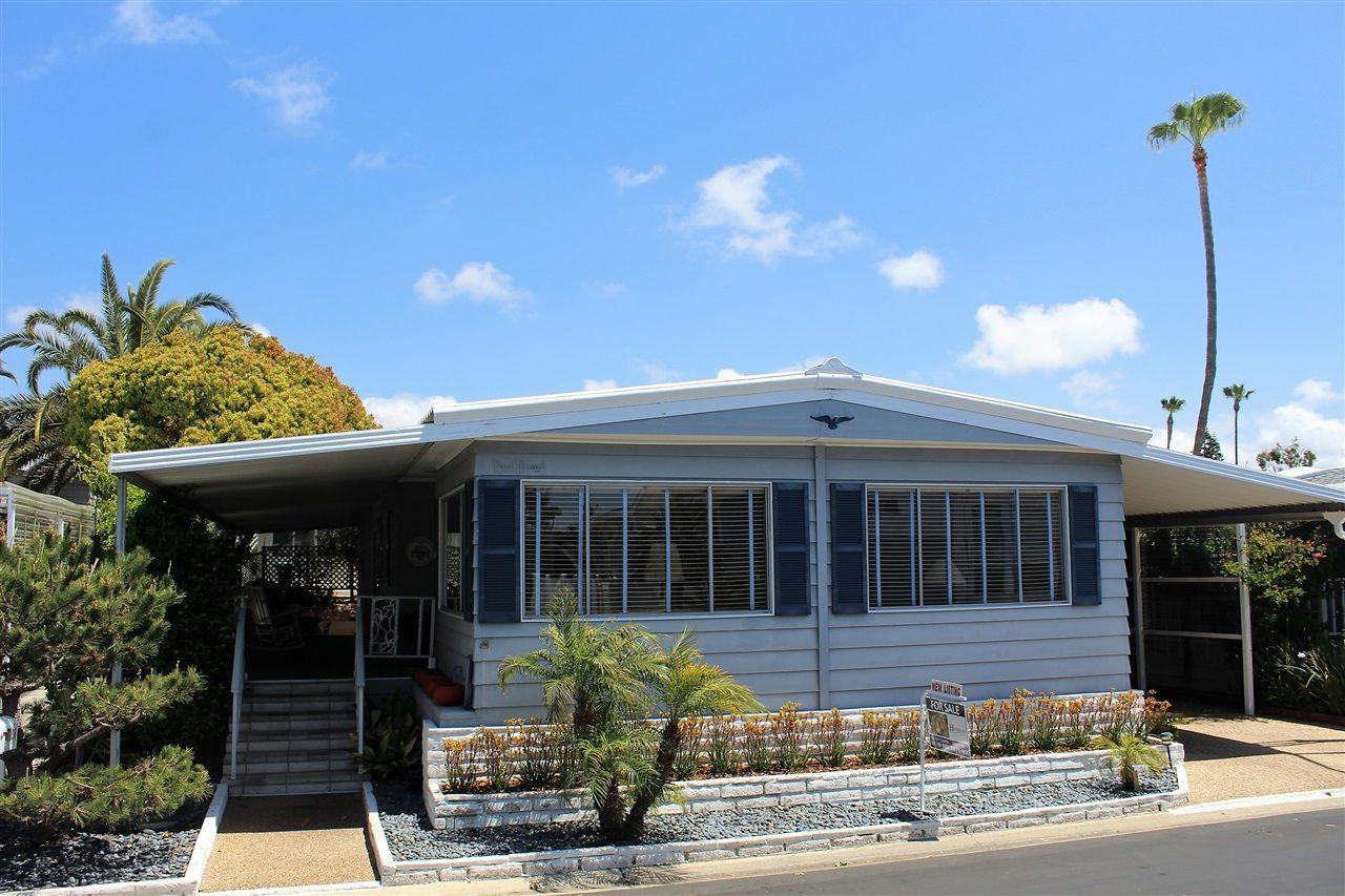 Main Photo: CARLSBAD SOUTH Manufactured Home for sale : 2 bedrooms : 7106 Santa Cruz in Carlsbad