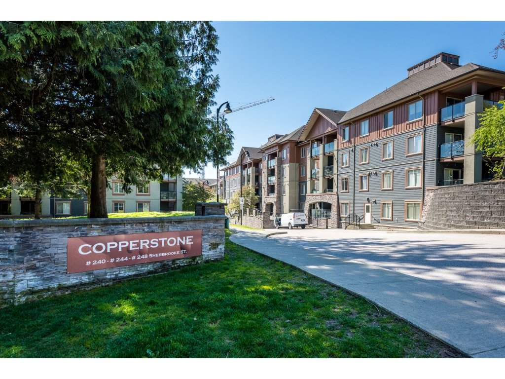"""Main Photo: 1111 248 SHERBROOKE Street in New Westminster: Sapperton Condo for sale in """"Copperstone"""" : MLS®# R2262147"""