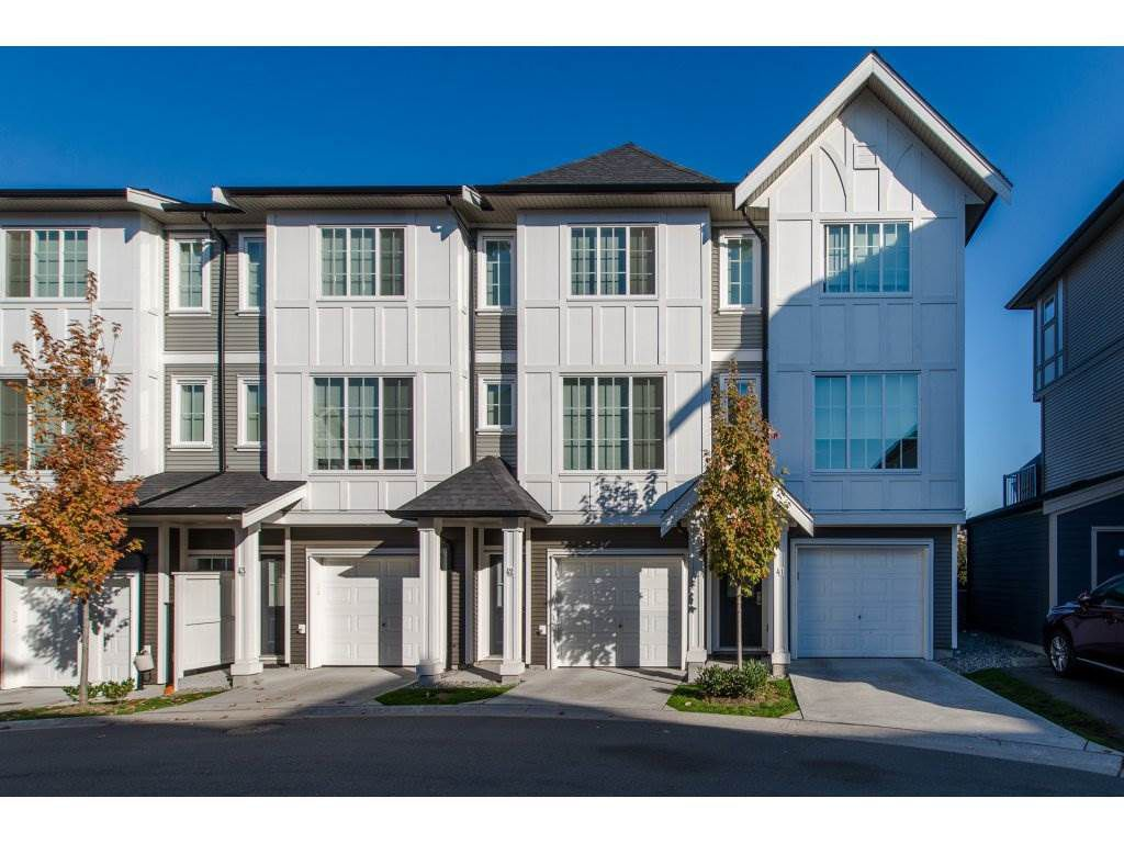 "Main Photo: 41 30989 WESTRIDGE Place in Abbotsford: Abbotsford West Townhouse for sale in ""BRIGHTON AT WESTERLEIGH"" : MLS®# R2316239"