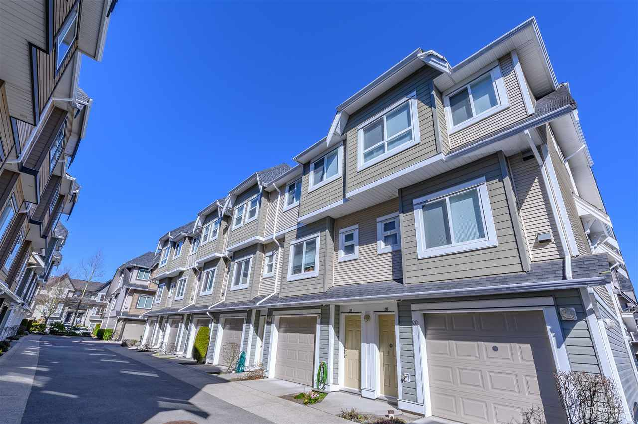 Main Photo: 22 7333 TURNILL Street in Richmond: McLennan North Townhouse for sale : MLS®# R2379018