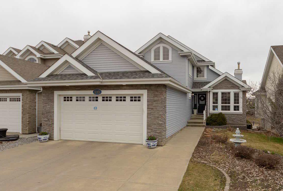 Main Photo: 599 STEWART Crescent in Edmonton: Zone 53 House for sale : MLS®# E4164487