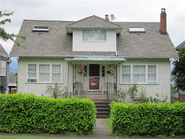 Main Photo: 3841 W 13TH Avenue in Vancouver: Point Grey House for sale (Vancouver West)  : MLS®# V894482