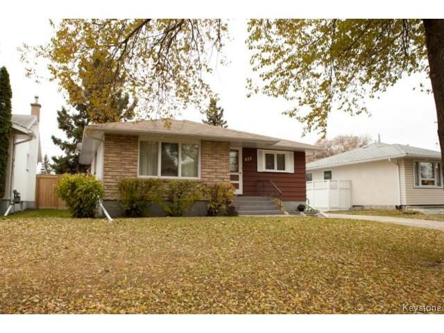 Main Photo: 622 Ian Place in WINNIPEG: North Kildonan Residential for sale (North East Winnipeg)  : MLS®# 1323801