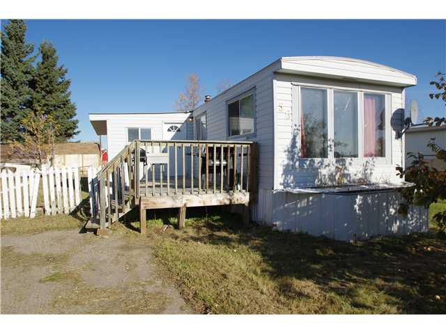"Main Photo: 56 8420 ALASKA Road in Fort St. John: Fort St. John - City SE Manufactured Home for sale in ""PEACE COUNTRY MOBILE HOME PARK"" (Fort St. John (Zone 60))  : MLS®# N240837"