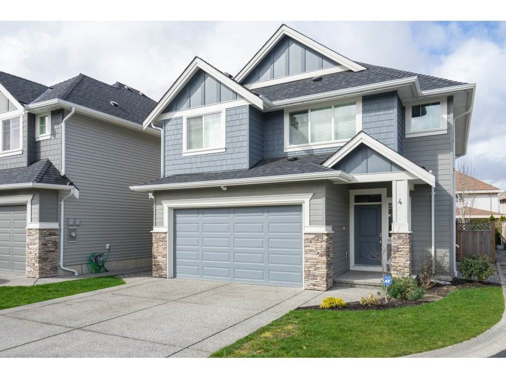 """Main Photo: 4 21267 83A Avenue in Langley: Willoughby Heights House for sale in """"Yorkson Crescent"""" : MLS®# R2252264"""