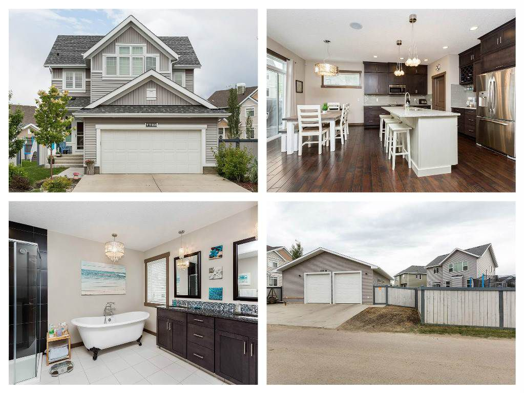 Main Photo: 7708 18 Avenue in Edmonton: Zone 53 House for sale : MLS®# E4118581