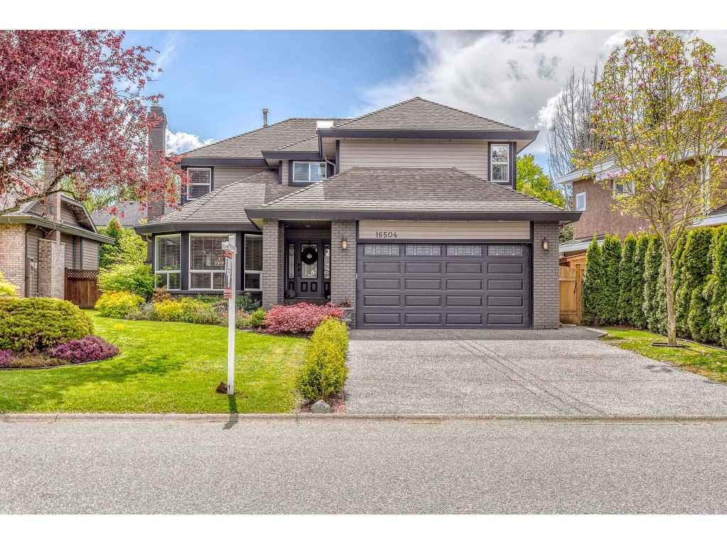 "Main Photo: 16504 N GLENWOOD Crescent in Surrey: Fraser Heights House for sale in ""GLENWOOD ESTATES"" (North Surrey)  : MLS®# R2370336"