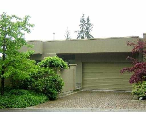 """Main Photo: 3182 DEER RIDGE DR in West Vancouver: Deer Ridge WV Townhouse for sale in """"DEER RIDGE"""" : MLS®# V592877"""