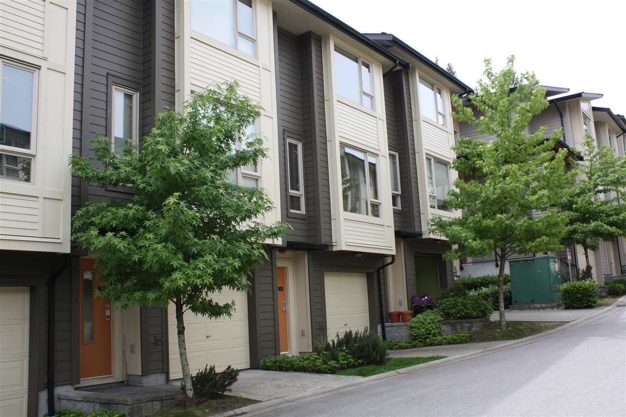 """Main Photo: 16 9229 UNIVERSITY Crescent in Burnaby: Simon Fraser Univer. Townhouse for sale in """"SERENITY"""" (Burnaby North)  : MLS®# R2071733"""