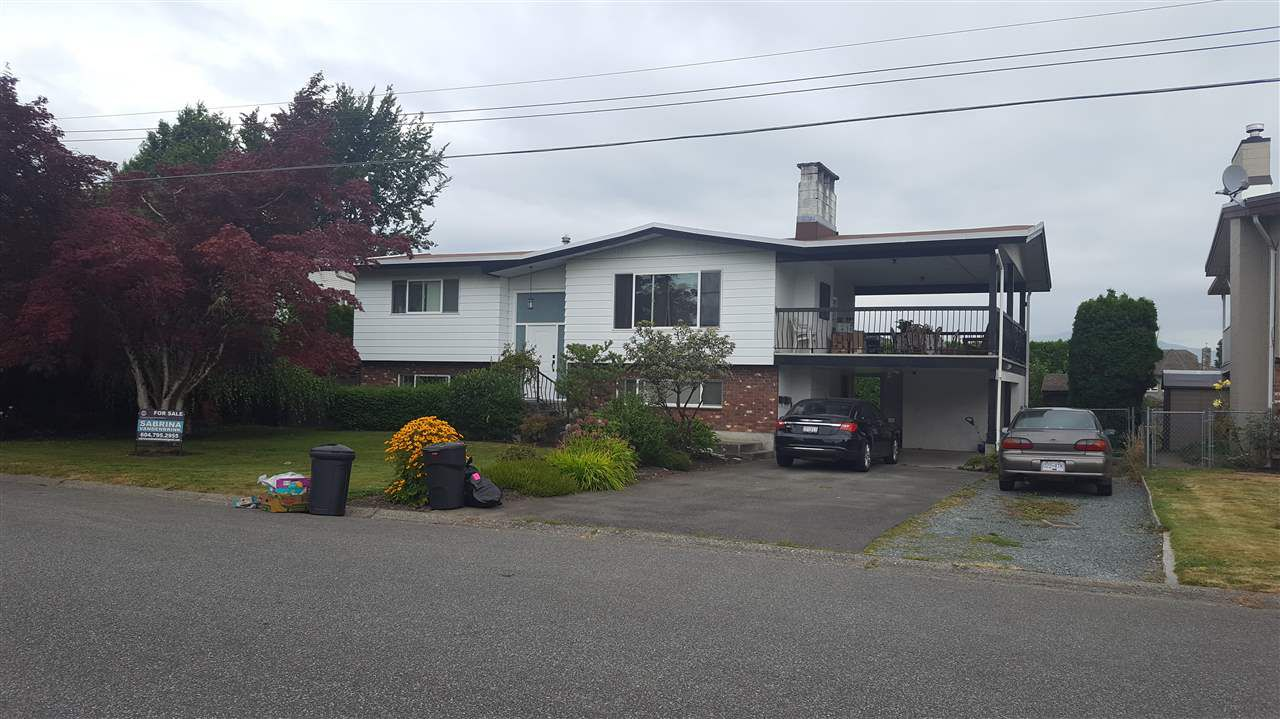 Main Photo: 46695 TETON Avenue in Chilliwack: Fairfield Island House for sale : MLS®# R2099243