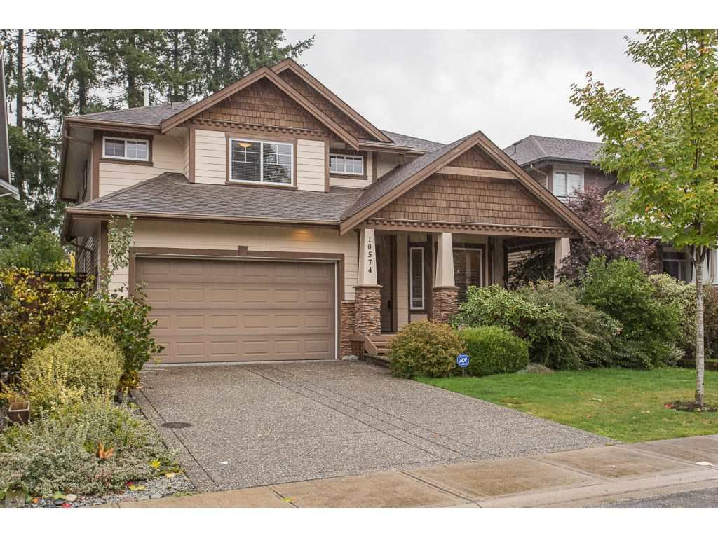 "Main Photo: 10574 239 Street in Maple Ridge: Albion House for sale in ""FALCON BLUFF"" : MLS®# R2215246"